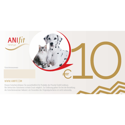 Anifit 10 EUR Gutschein (1 Piece)